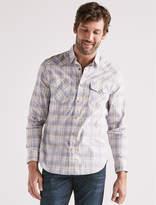 Lucky Brand Heritage Western Plaid Shirt