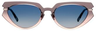 Christian Dior DiorAttitude2 53MM Cat Eye Sunglasses