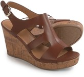 Franco Sarto Mantle Sandals - Leather, Wedge Heel (For Women)
