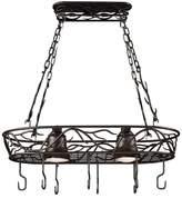 Kenroy Home 2-Light Ceiling Pot Rack