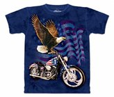 The Mountain Mens Born To Ride Short Sleeve T-Shirt