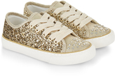 Monsoon Glitter Lace Up Trainers