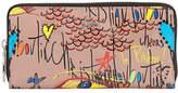Christian Louboutin Panettone Graffiti Leather Wallet