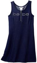 Bebe Knit Denim Dress with Rhinestones (Big Girls)