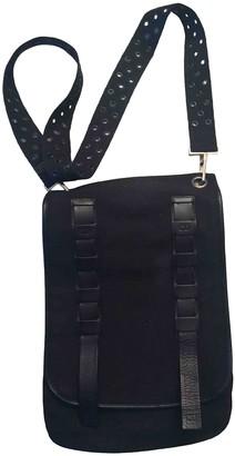 Christian Dior Black Cotton Bags
