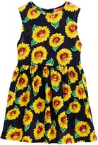 Funkyberry Sunflower Dress (Toddler Girls)