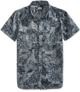 Superdry Men's Ghost Floral-Print Cotton Shirt