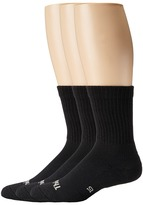 Thorlos Everyday Comfort Crew 3-Pair Pack Women's Crew Cut Socks Shoes