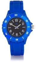 River Island Boys blue rubber sporty watch