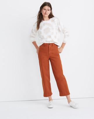 Madewell Petite Slim Emmett Wide-Leg Crop Pants