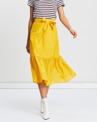 Scotch & Soda Midi Skirt