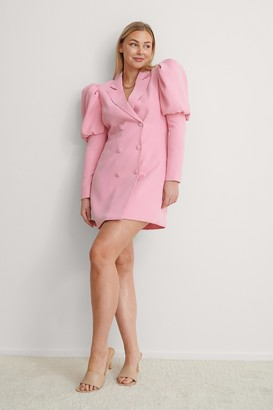 NA-KD Puffy Sleeve Blazer Dress