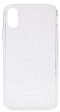 Marcelo Burlon County of Milan Transparent Wireframe Iphone Xs Case - Mens - Clear