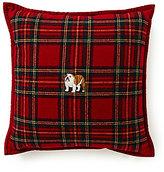 Ralph Lauren Bowen Plaid English Bulldog Pillow