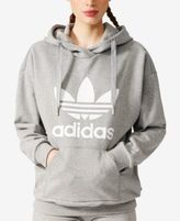 adidas Relaxed French Terry Logo Hoodie