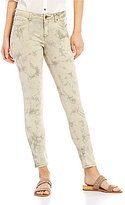 William Rast Tie-Dye Ankle Skinny Jeans