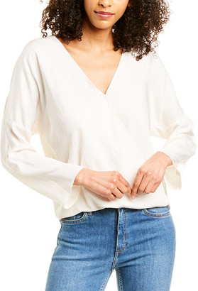 Vince Crossover Blouse