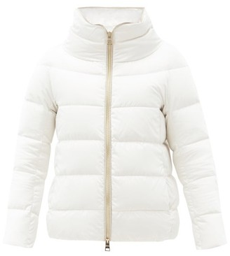 Herno Bonbon High-neck Quilted Down Jacket - White