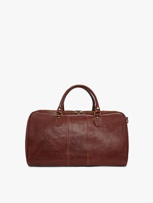 R.M. Williams Leather Duffle Bag
