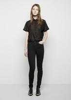Acne Studios Pin 5 Black Jean