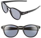 Oakley Men's Latch 53Mm Sunglasses - Black