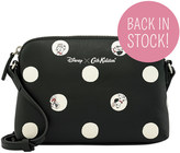 Cath Kidston Puppy Spot Leather Small Cross Body Bag