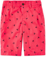 Arizona Print Chino Shorts - Boys 8-20, Husky and Slim