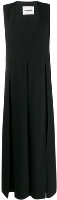 Jil Sander Loose-Fit Sleeveless Dress