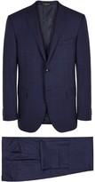 Corneliani Checked Three-piece Super 130's Wool Suit