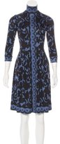 Tracy Reese Silk Printed Dress