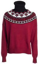 Fendi Logo Turtleneck Sweater