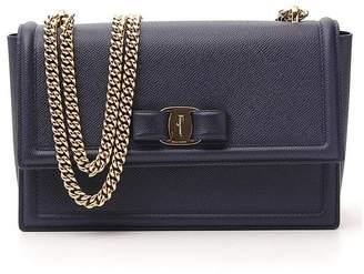 Salvatore Ferragamo Vara Bow Chain Shoulder Bag