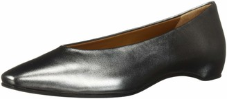 Aquatalia Women's Mary Metallic Nappa Ballet Flat
