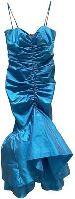 ATTICO Blue Polyester Dresses