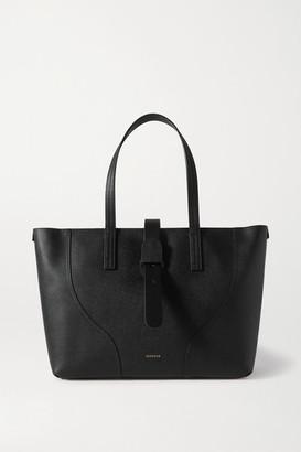Senreve Voya Textured-leather Tote - Black