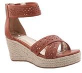 Nina Girl's Chicory Perforated Platform Sandal