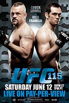UFC 115 Chuck Liddell vs Rich Franklin Sports Poster 12x18