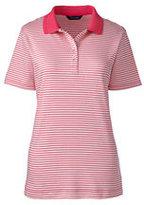 Classic Women's Tall Pima Polo Shirt-Spring Stripe