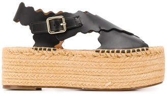 Chloé Flatform 65mm Sandals