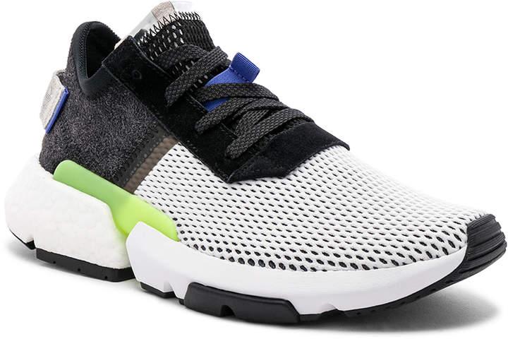 adidas Pod-S3.1 in CBlack & Realil & Shored   FWRD