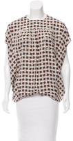 Louis Vuitton Silk Patterned Blouse
