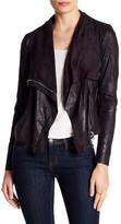 philosophy Faux Leather Vintage Moto Jacket