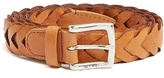 Etro Braided-leather belt
