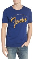 Lucky Brand Men's Fender Painted Graphic T-Shirt