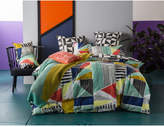 Kas GEOMETRY DOUBLE QUILT COVER SET