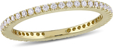 Julie Leah 2/7 CT TW Diamond 14K Gold Eternity Wedding Band