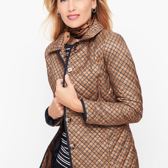 Talbots Quilted Jacket - Print