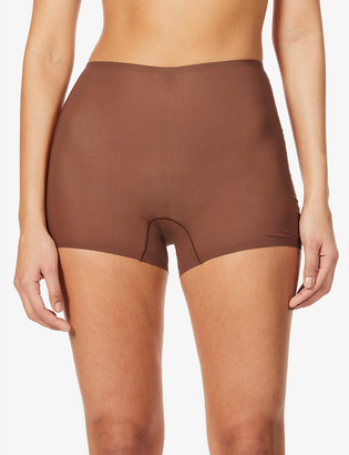 SKIMS Naked high-rise stretch-woven shorts