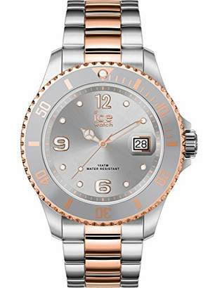 Ice Watch Ice-Watch - ICE steel Silver rose-gold - Women's wristwatch with metal strap - 017322 (Small)