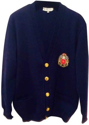 Celine Navy Wool Knitwear for Women Vintage